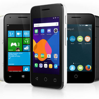 Alcatel Announces Phones Able to Run Android, Firefox OS and Windows Phone