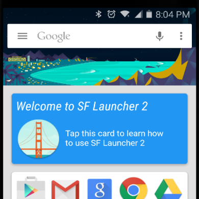 SF Launcher 2: Material Design, Further Googlified