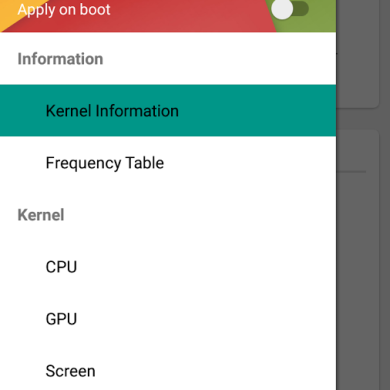 Tweak Your Kernel Parameters with Kernel Adiutor