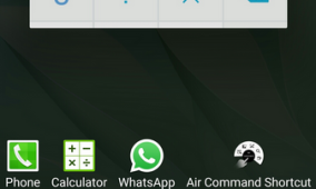Add Shortcuts to Note 3 Lollipop Recents