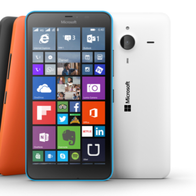 Microsoft Unveils the Lumia 640 and Lumia 640 XL
