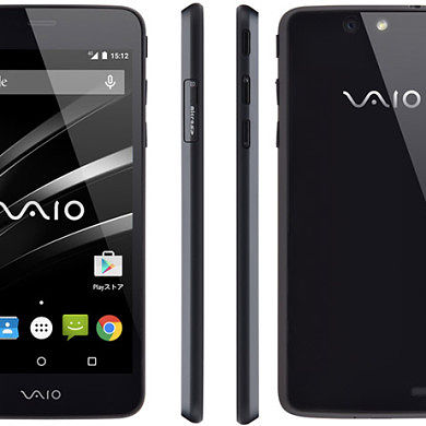 VAIO Corp. Launches Its First Smartphone: VAIO Phone