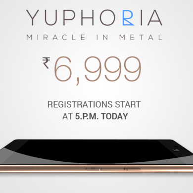 YU Yuphoria Launched With An Unbelievable Price Tag