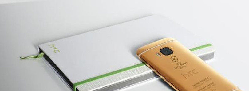 HTC Shoots Gold M9 Promotional Pictures with an iPhone 6