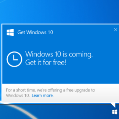 Windows 10 To Be Available On July 29