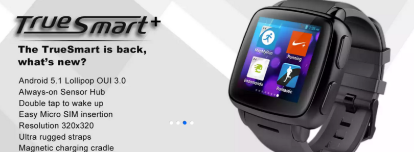The Omate TrueSmart+ Smartwatch Runs Full Android 5.1 Lollipop