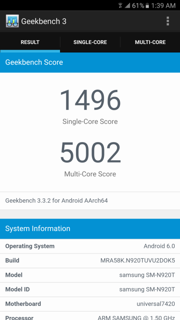 Marshmallow, First Score