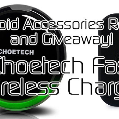 Choetech Fast Wireless Charger Review and Giveaway! – XDA TV