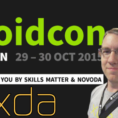 Punching Things at DroidCon UK 2015! – XDA TV