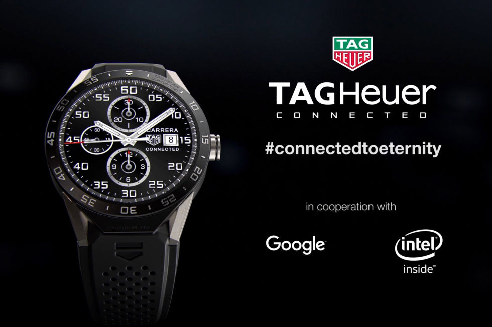 Tag Heuer Launches Connected, a $1500 Android Wear Smartwatch