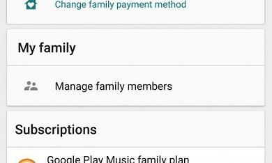 Google Play Store Version 6.8 Hints at Sharing Music Purchases on a Family Plan, Improved Data Pre-Loading