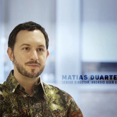 "Matias Duarte, The Man Behind Everything ""Design"" at Google"