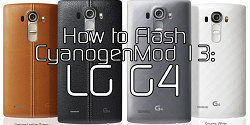 How to Flash CyanogenMod 13 on your LG G4 – XDA TV