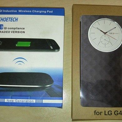 Review: CHOETECH T513 Wireless Charger & G4 Wireless Charging Case