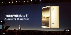 Huawei Announces the Mate 8 for New Markets at CES Las Vegas