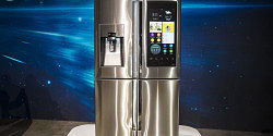 Samsung's new Family Hub Refrigerator is… The Future?