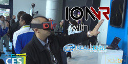 IonVR Virtual Reality Headset with Intel RealSense at CES 2016 – XDA TV
