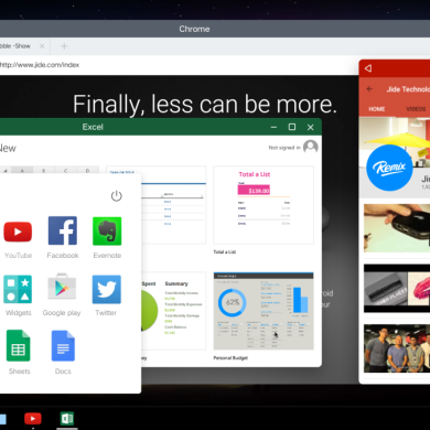 Jide Announce Multi-Window Android For PC and Mac *updated*