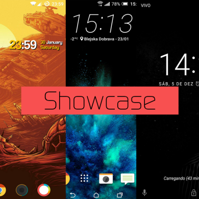 Community Homescreen Showcase