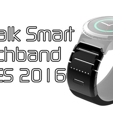 TipTalk Smart Watchband at CES 2016 – XDA TV