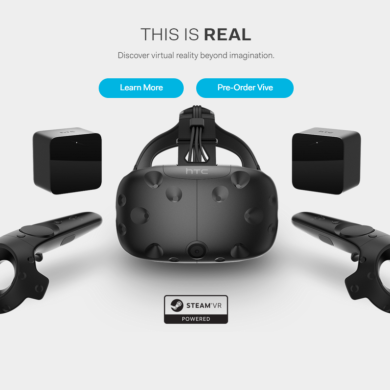 HTC is Now Letting People Pre-Order its Vive VR Headset