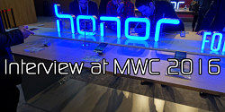 honor Interview at MWC 2016