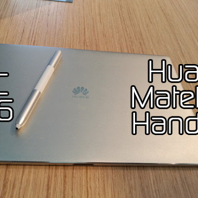 Huawei MateBook Hands On at MWC 2016