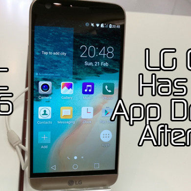 LG G5 Has an App Drawer After All! MWC 2016