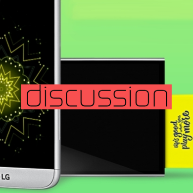 What Do You Think of the LG G5's Modularity? Thoughtful Addition, or Gimmick?