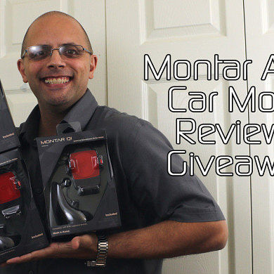 Montar Air Qi Car Mount Review and Giveaway! – XDA TV