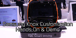 Samsung Knox Customization Hands On & Demo at MWC 2016
