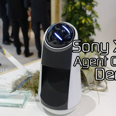Sony Xperia Agent Concept Demo at MWC 2016 (Move Over Alexa)