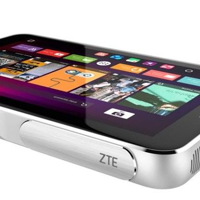 ZTE's Spro Plus is an Android Projector that Doubles as a Tablet and Hotspot