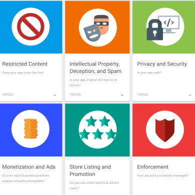 Google Updates its Google Play Developer Policy to Clarify Rules for Apps