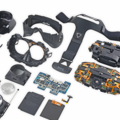 HTC Vive Teardown Shows a Module Design