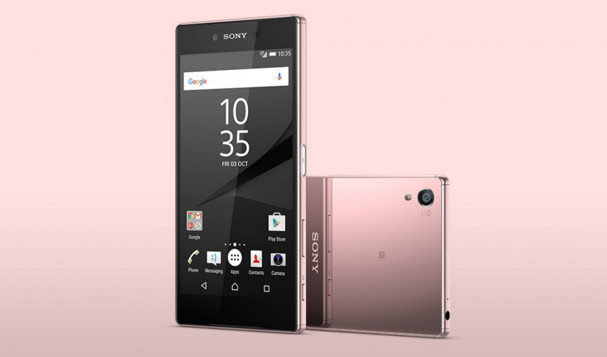 Sony Announces the Xperia Z5 Premium in Pink