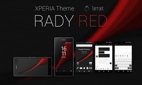 Rady Red Theme for Sony Xperia Z5