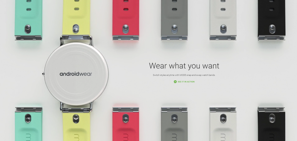 New MODE Android Wear Bands Offer Style and Ease of Switch