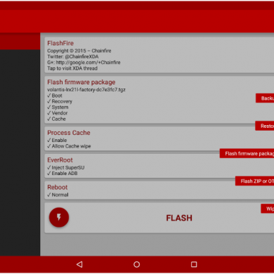 FlashFire v0.33 Update Brings Ability to Backup and Restore via ADB over WiFi