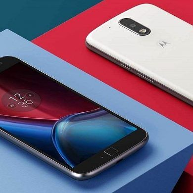 Lenovo Unveils the Moto G4 and Moto G4 Plus in India