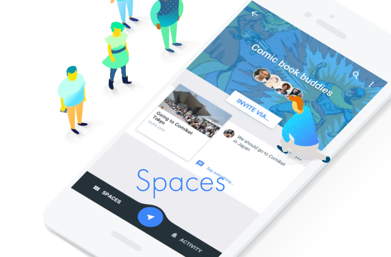 Google Introduces Spaces: An App for Small Group Sharing