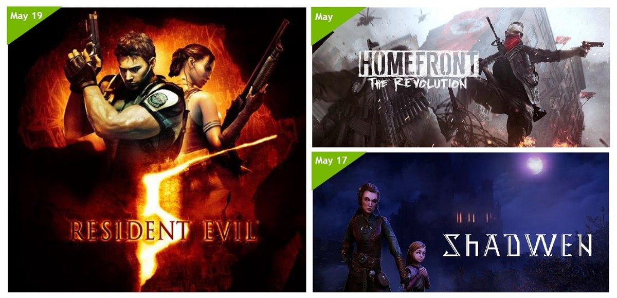 New GeForce NOW And SHIELD Only Games