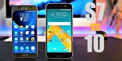 HTC 10 vs Galaxy S7 microSD Speed
