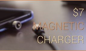 $7 Magnetic Charger Review
