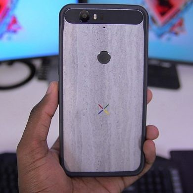 What's on Miles' Nexus 6P?