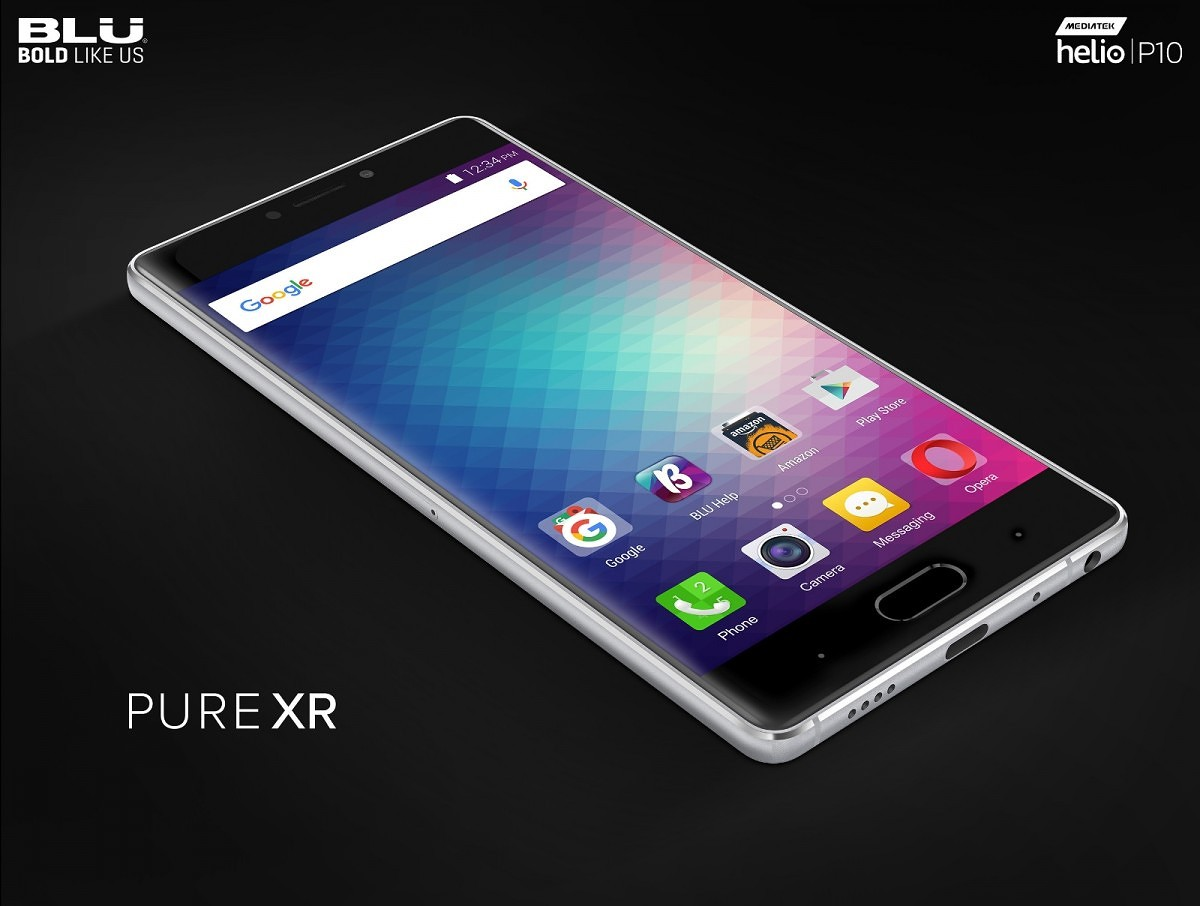 BLU Announces the Pure XR with its 3D Touch Display | xda