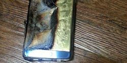 Replaced Galaxy Note 7 Reportedly Catches Fire