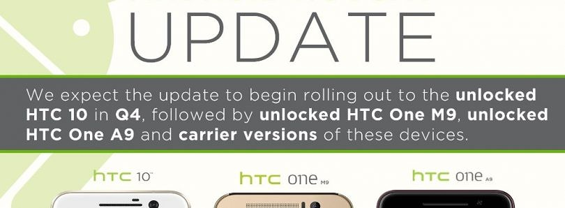 [UPDATE: Response from HTC] HTC Breaks One A9's 15-Day Update Promise on the Phone's First Major Update