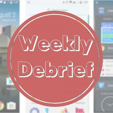 Weekly Debrief