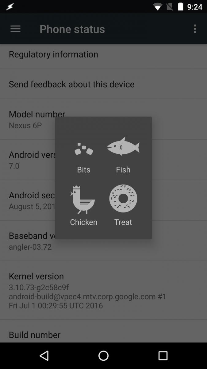 Android Nougat still has Flappy Droid and the Dessert Case ...
